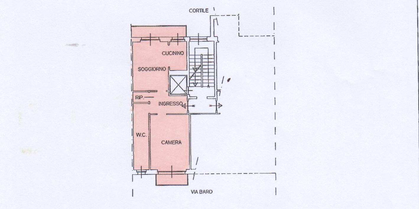 Planimetria appartamento tipo 2
