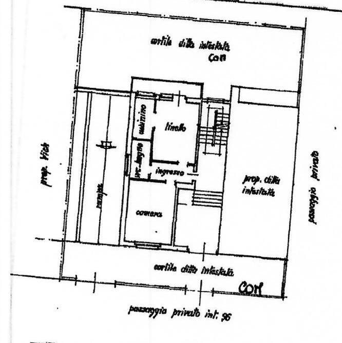 Planimetria appartamento tipo 3